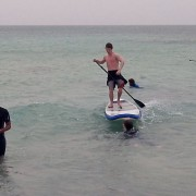 sup lesson in cape verde
