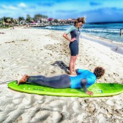 surfing lessons cape verde