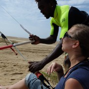 kitesurfing lessons with surf hub
