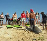 surf lessons in cabo verde