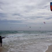 Kitesurfing in Sal