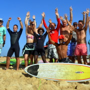friends surf lessons in cabo verde
