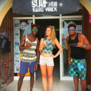 Surfing and Kitesurfing in Sal Cape Verde