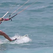 kiteboarding with surf hub