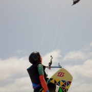 kitesurfing with urf hub in cape verde