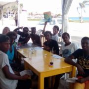 Kitesurfing Sal lunch
